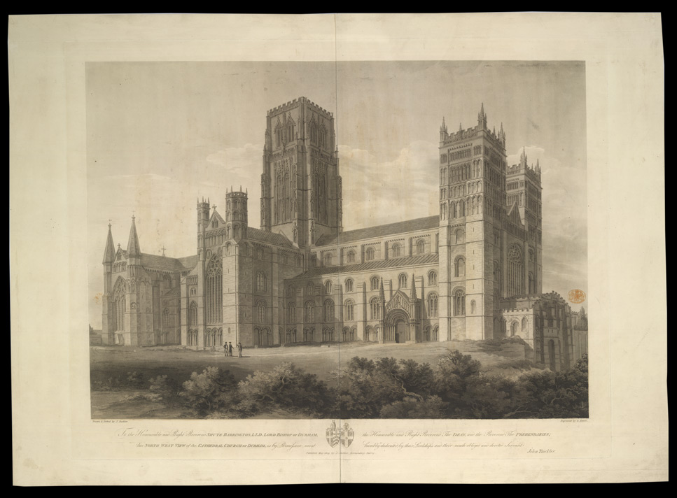 North-west view of the Cathedral Church of Durham